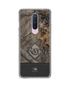 Tampa Bay Rays Realtree Xtra Camo OnePlus 8 Clear Case