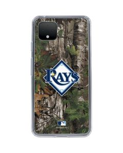 Tampa Bay Rays Realtree Xtra Green Camo Google Pixel 4 Clear Case