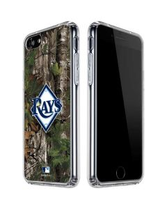 Tampa Bay Rays Realtree Xtra Green Camo iPhone SE Clear Case