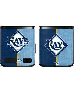 Tampa Bay Rays Split Galaxy Z Flip Skin
