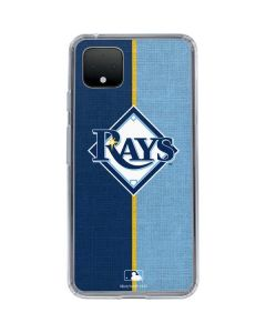 Tampa Bay Rays Split Google Pixel 4 Clear Case