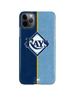 Tampa Bay Rays Split iPhone 11 Pro Max Lite Case