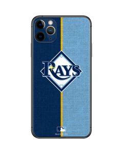 Tampa Bay Rays Split iPhone 11 Pro Max Skin