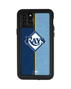 Tampa Bay Rays Split iPhone 11 Pro Waterproof Case