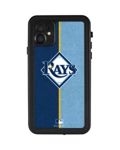 Tampa Bay Rays Split iPhone 11 Waterproof Case