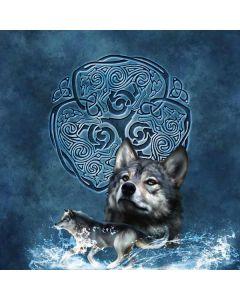 Celtic Wolf Generic Laptop Skin