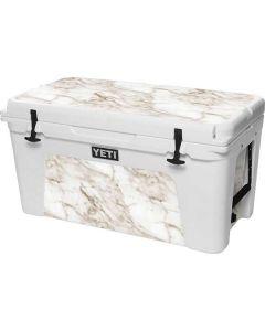 Taupe Marble YETI Tundra 75 Hard Cooler Skin