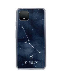 Taurus Constellation Google Pixel 4 XL Clear Case