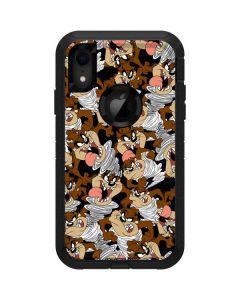 Taz Super Sized Pattern Otterbox Defender iPhone Skin