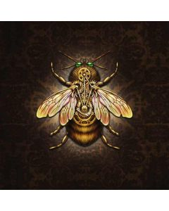 Steampunk Bee Generic Laptop Skin