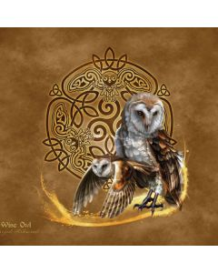 Owl Celtic Knot Generic Laptop Skin