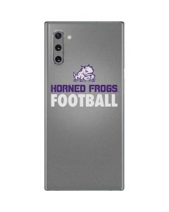 TCU Horned Frogs Football Galaxy Note 10 Skin