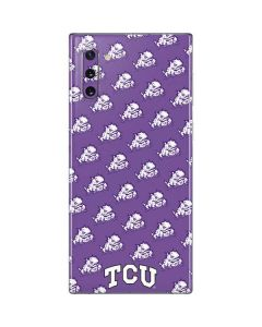TCU Horned Frogs Logo Print Galaxy Note 10 Skin