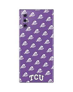 TCU Horned Frogs Logo Print Galaxy Note 10 Skin