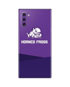 TCU Horned Frogs Mascot Galaxy Note 10 Skin