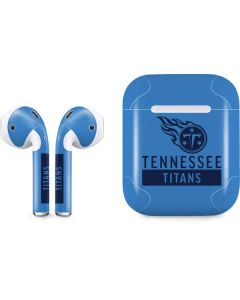 Tennessee Titans Blue Performance Series Apple AirPods Skin