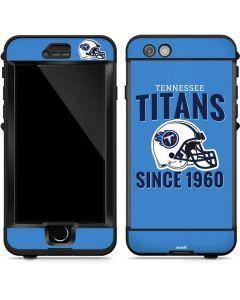 Tennessee Titans Helmet LifeProof Nuud iPhone Skin