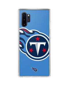 Tennessee Titans Large Logo Galaxy Note 10 Plus Clear Case