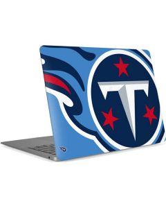 Tennessee Titans Large Logo Apple MacBook Air Skin