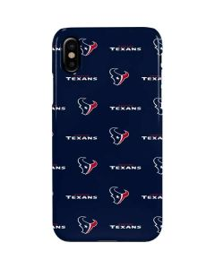 Houston Texans Blitz Series iPhone XS Max Lite Case