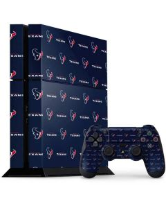 Houston Texans Blitz Series PS4 Console and Controller Bundle Skin