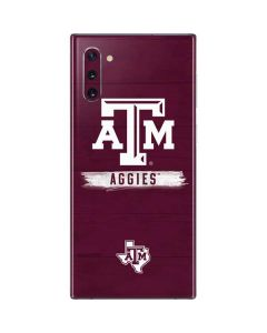 Texas A&M Aggies Galaxy Note 10 Skin