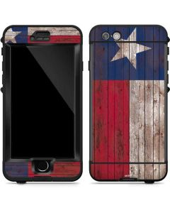 Texas Flag Dark Wood LifeProof Nuud iPhone Skin