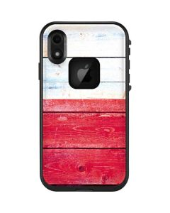 Texas Flag Light Wood LifeProof Fre iPhone Skin