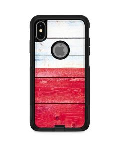 Texas Flag Light Wood Otterbox Commuter iPhone Skin