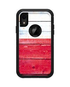 Texas Flag Light Wood Otterbox Defender iPhone Skin