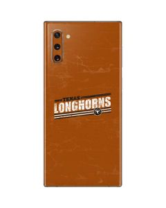 Texas Longhorns Galaxy Note 10 Skin