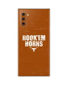 Texas Longhorns Hook Em Galaxy Note 10 Skin
