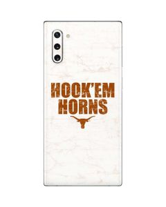 Texas Longhorns White Hook Em Galaxy Note 10 Skin
