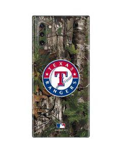 Texas Rangers Realtree Xtra Green Camo Galaxy Note 10 Skin