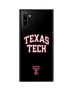 Texas Tech Galaxy Note 10 Skin