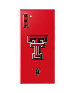 Texas Tech Logo Galaxy Note 10 Skin
