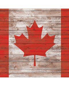 Canadian Flag Dark Wood PlayStation VR Skin