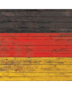 German Flag Dark Wood Generic Laptop Skin