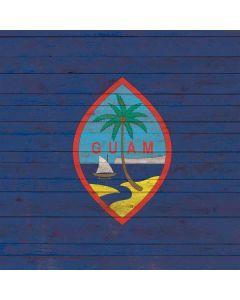 Guam Flag Dark Wood Generic Laptop Skin