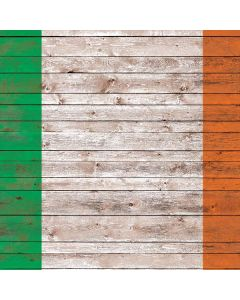 Ireland Flag Dark Wood Generic Laptop Skin