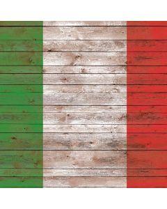 Italian Flag Dark Wood Generic Laptop Skin