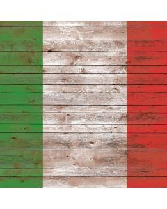 Italian Flag Dark Wood Generic Laptop Skin