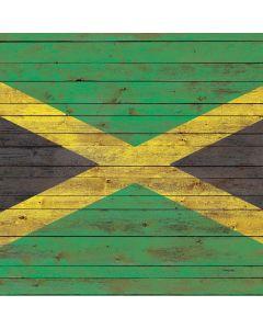 Jamaican Flag Dark Wood Generic Laptop Skin