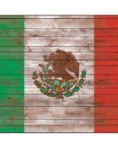 Mexican Flag Dark Wood Generic Laptop Skin