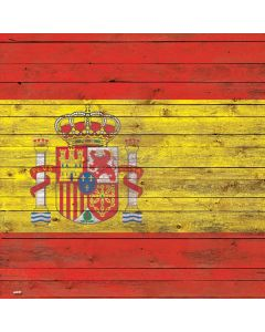 Spain Flag Dark Wood Generic Laptop Skin