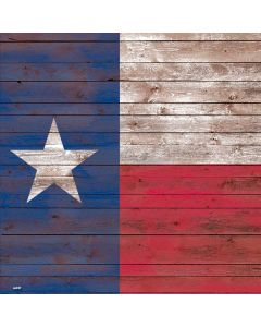 Texas Flag Dark Wood Generic Laptop Skin
