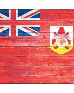 Bermuda Flag Light Wood Yeti Colster Can Insulator Skin