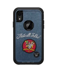 Thats All Folks Patch Otterbox Defender iPhone Skin