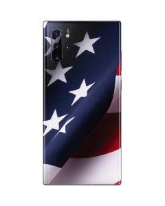 The American Flag Galaxy Note 10 Plus Skin