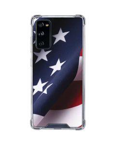 The American Flag Galaxy S20 FE Clear Case